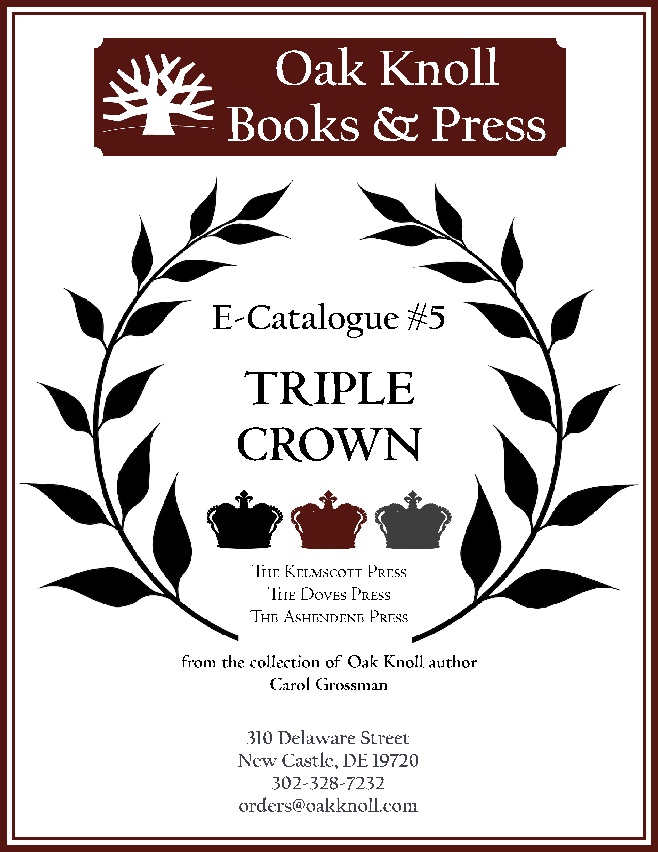 e-Catalogue #5 - Triple Crown