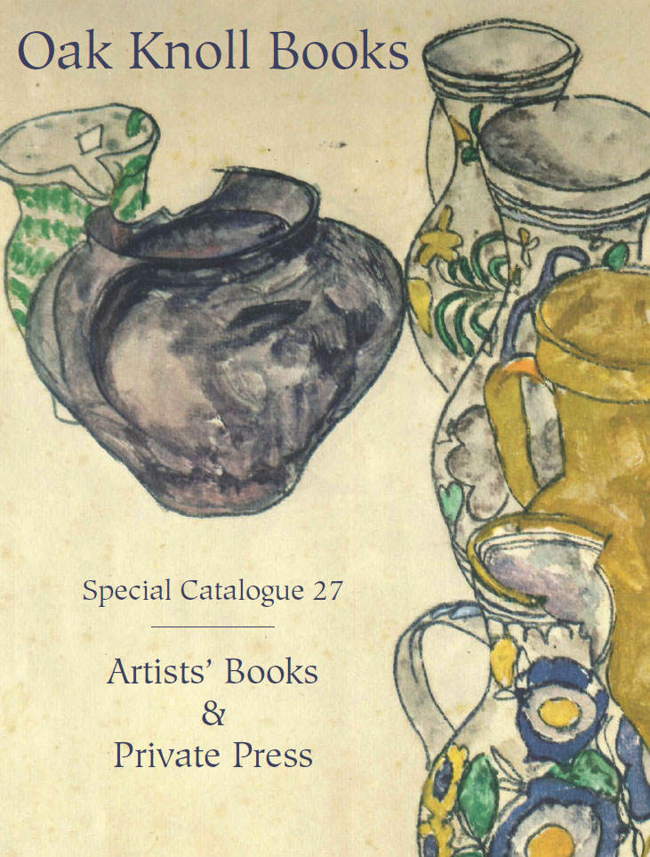 Special Catalogue 27: Artists' Books & Private Press