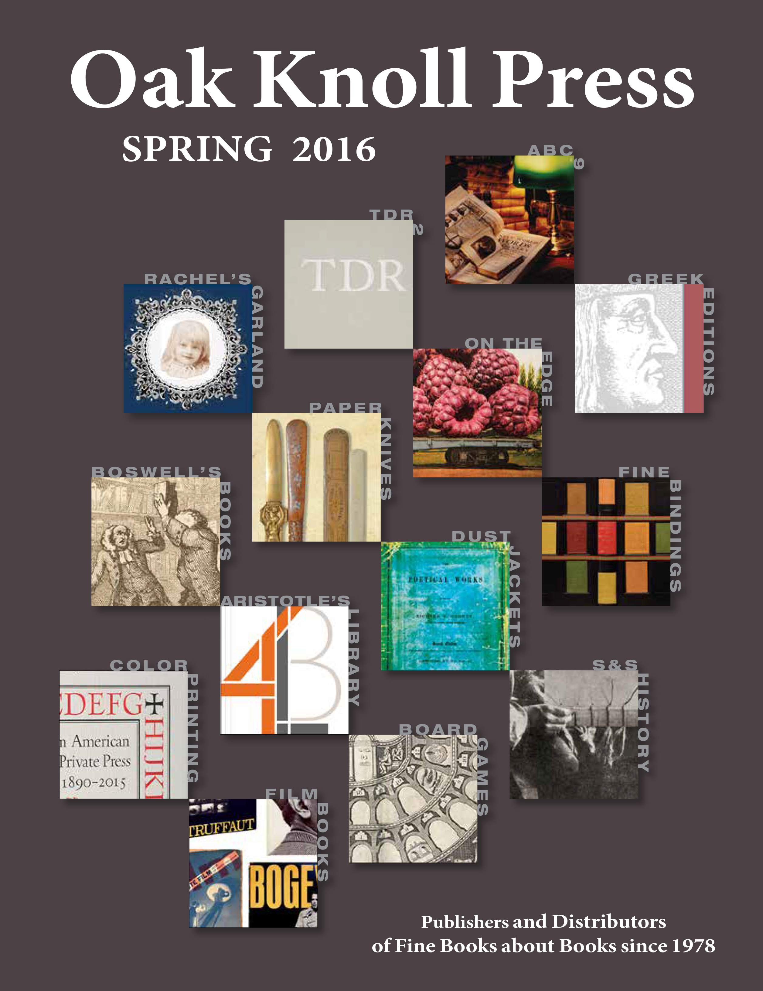 Spring 2016 Publishing Catalogue