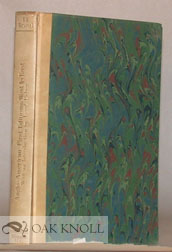 ANGLO-AMERICAN FIRST EDITIONS, PART TWO WEST TO EAST 1786-1930. I. R. Brussel.