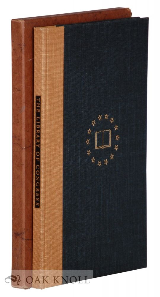 THE LIBRARY OF CONGRESS, AN ACCOUNT, HISTORICAL AND DESCRIPTIVE. Paul M. Angle.