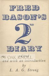 FRED BASON'S 2ND DIARY. Fred Bason.