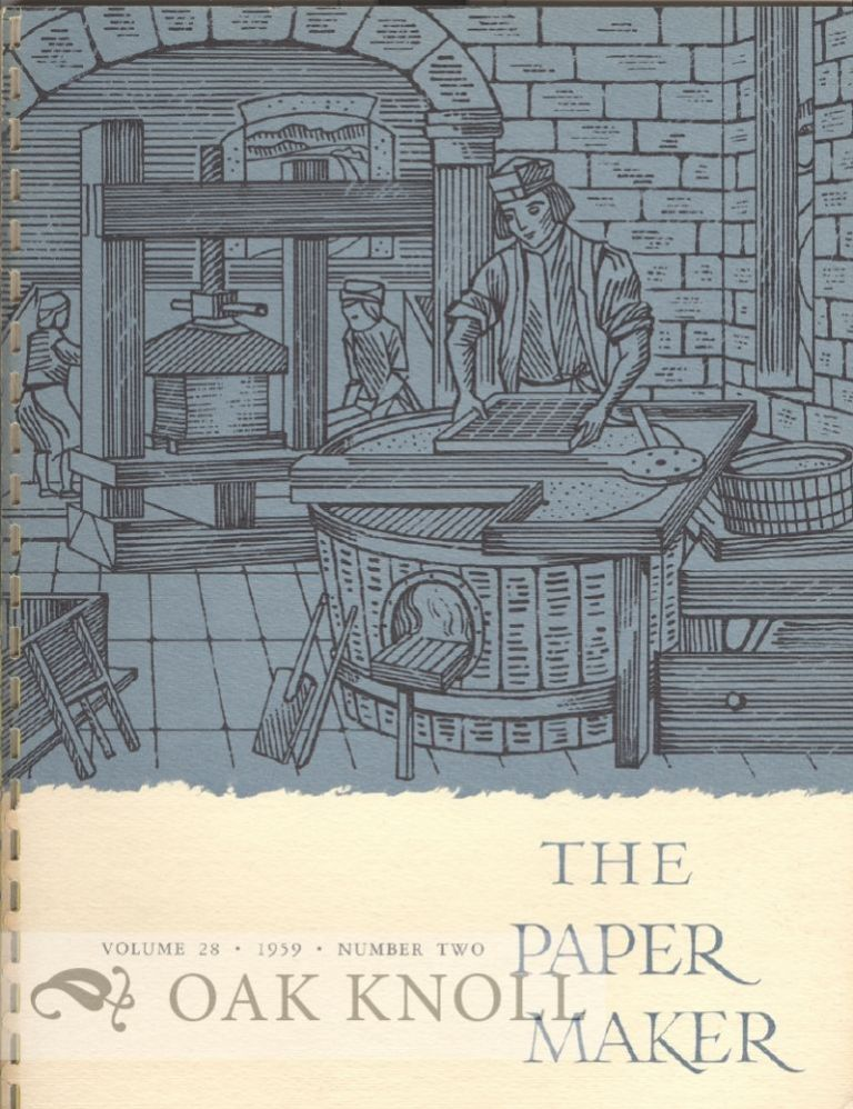 THE PAPER MAKER.