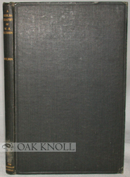 BIBLIOGRAPHY OF THE WRITINGS OF W.H. HUDSON. G. F. Wilson.
