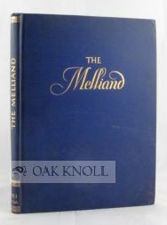THE MALLIAND, THE AUTHORITATIVE REFERENCE LIBRARY OF THE WORLD'S TEXTILE INDUSTRY. Marcel Melliand.