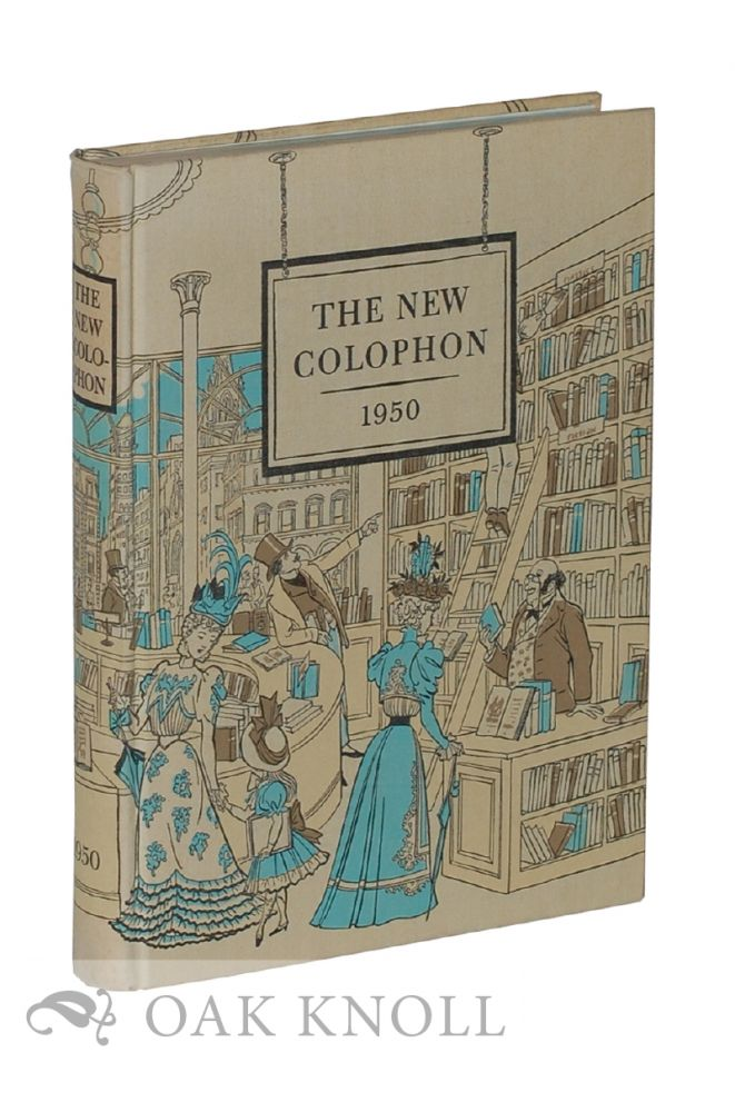 THE NEW COLOPHON, A BOOK-COLLECTORS' MISCELLANY.
