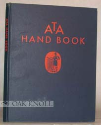 ATA ADVERTISING PRODUCTION HAND BOOK. Don Herold.
