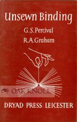 UNSEWN BINDING. G. S. Percival, R A. Graham.