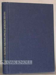 INDEX TO SELECTED BIBLIOGRAPHICAL JOURNALS, 1933-1970