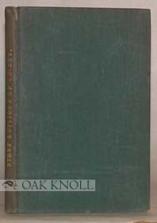 FIRST EDITIONS OF TO-DAY AND HOW TO TELL THEM. HS Boutell.