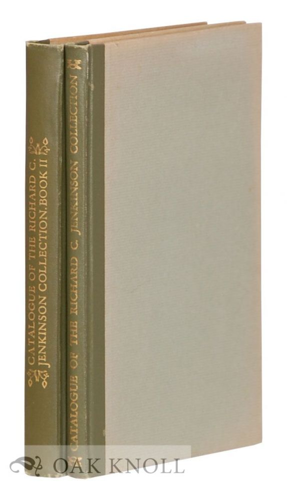 richard c jenkinson collection of books chosen to show the work of