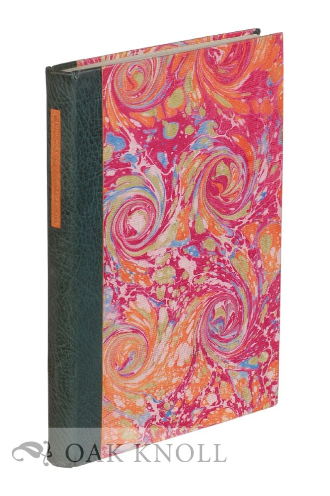 THREE EARLY FRENCH ESSAYS ON PAPER MARBLING, 1642-1765. Richard J. Wolfe.