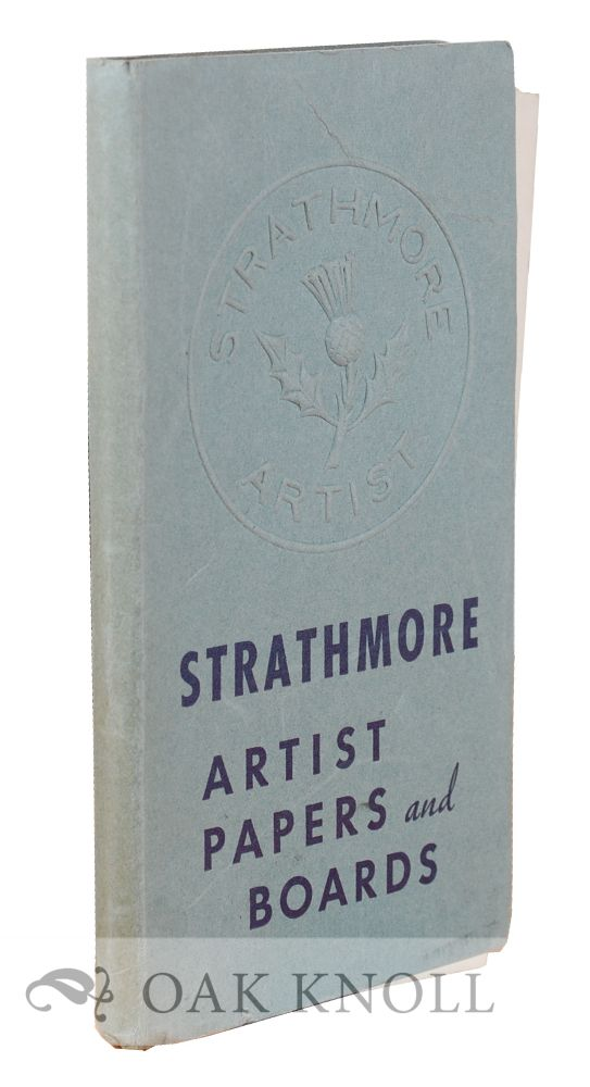 STRATHMORE ARTISTS PAPERS AND BOARDS.