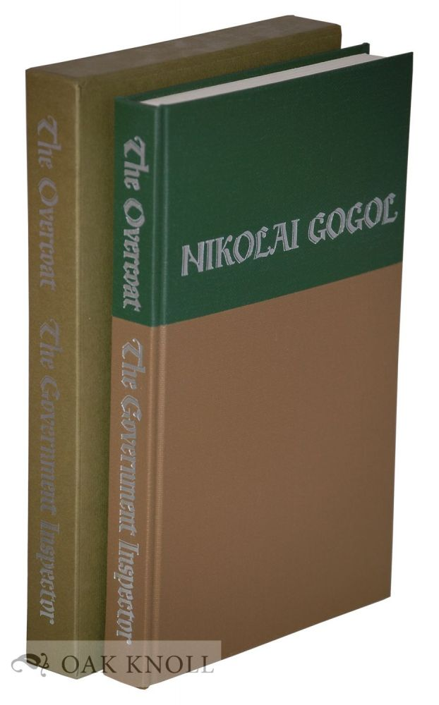 THE OVERCOAT. THE GOVERNMENT INSPECTOR. Nikolai Gogol.