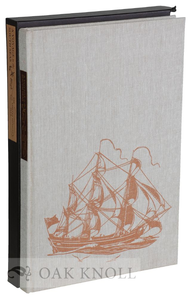 VOYAGE TO THE SOUTH SEAS, UNDERTAKEN BY COMMAND OF HIS MAJESTY FOR THE CONVEYING THE BREAD-FRUIT TREE TO THE WEST INDIES IN HIS MAJESTY'S SHIP BOUNTY ... INCLUDING AN ACCOUNT OF THE MUTINY ON BOARD ... Introduced by Alan Villiers and Illustrated With watercolours and drawings by Geoffrey C. Ingleton. William Bligh.