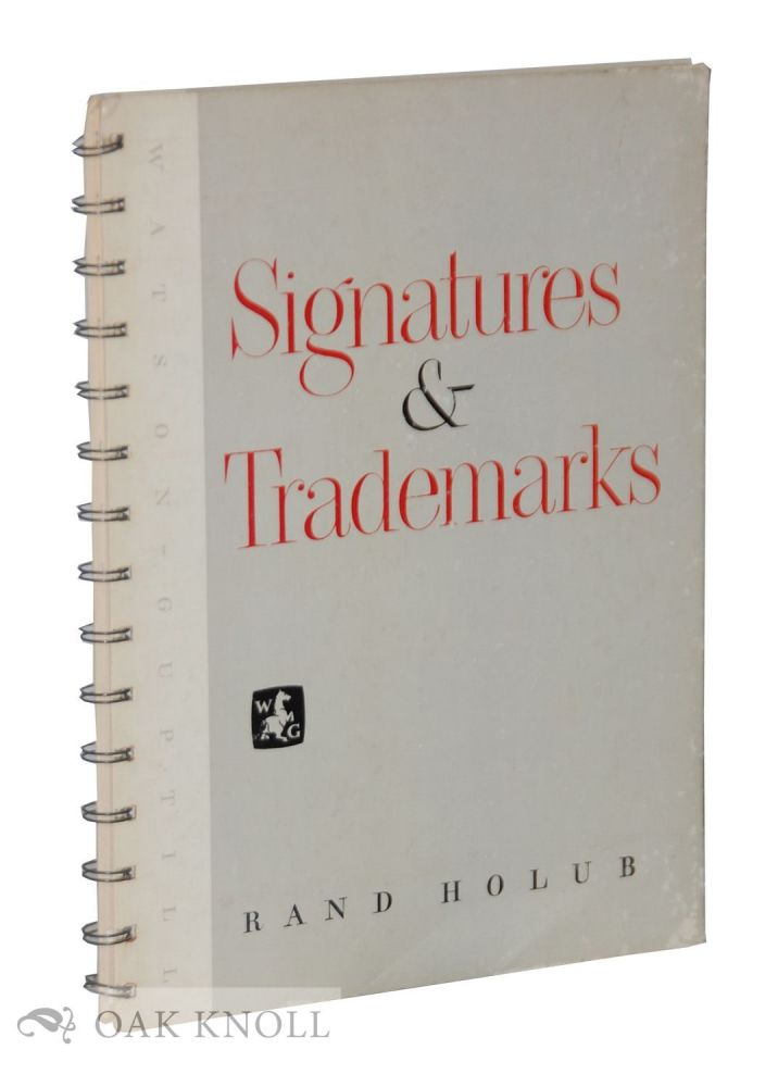 SIGNATURES AND TRADEMARKS. Rand Holub.