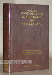 SHEPPARD'S BOOK DEALERS IN AUSTRALIA AND NEW ZEALAND.