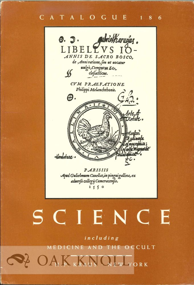 SCIENCE INCLUDING MEDICINE AND THE OCCULT. 186.