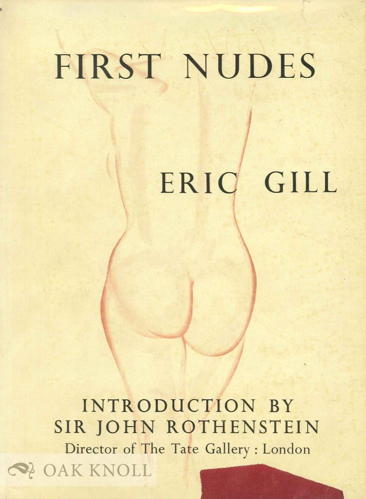 FIRST NUDES. Eric Gill.