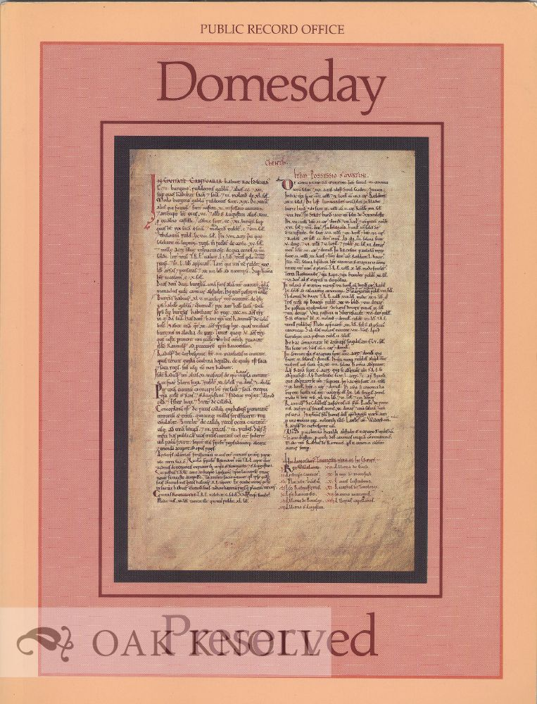 DOMESDAY PRESERVED. Helen Forde.