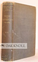 TRAVEL AND DESCRIPTION, 1765-1865. Solon Justus Buck.