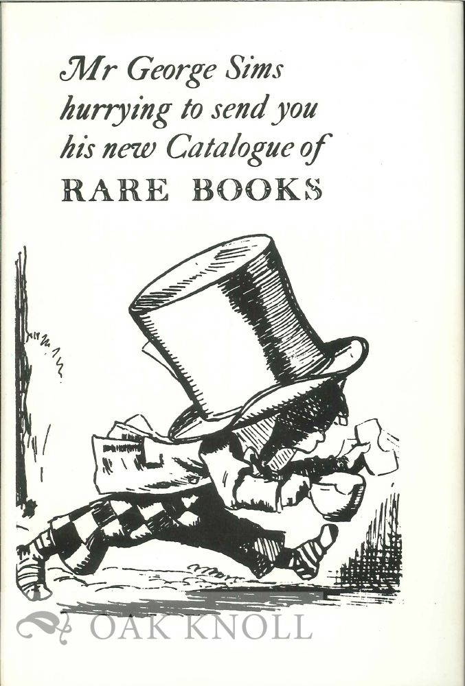A LIFE IN CATALOGUES AND OTHER ESSAYS. George Sims.