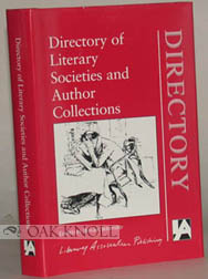 DIRECTORY OF LITERARY SOCIETIES AND AUTHOR COLLECTIONS. Roger Sheppard.
