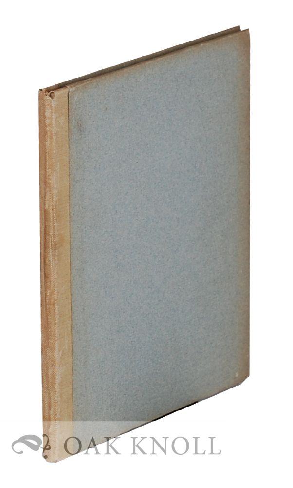 A SHORT HISTORICAL SKETCH OF THE ART OF BOOKBINDING. WITH A DESCRIPTION OF PROMINENT STYLES BY WILLIAM MATTHEWS. William L. Andrews, William Matthews.