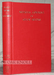 MEDIEVAL LIBRARIES OF GREAT BRITAIN, A LIST OF SURVIVING BOOKS. N. R. Ker.
