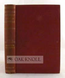 CHRONOLOGICAL OUTLINES OF AMERICAN LITERATURE. Selden L. Whitcomb.