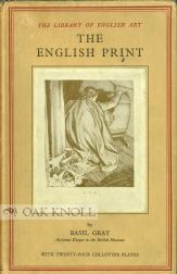 THE ENGLISH PRINT. Basil Gray.