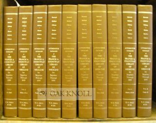AUTHOR-TITLE CATALOGUE OF THE FRANCIS A. COUNTWAY LIBRARY OF MEDICINE.