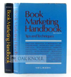 BOOK MARKETING HANDBOOK. Nat G. Bodian.