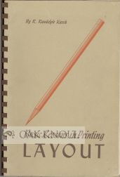 BASIC LESSONS IN PRINTING LAYOUT. R. Randolph Karch.