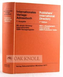 PUBLISHERS' INTERNATIONAL DIRECTORY.