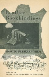 LEATHER BOOKBINDINGS, HOW TO PRESERVE THEM. J. S. Rogers.