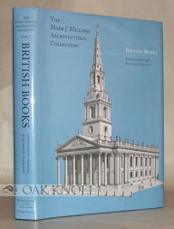 THE MARK J. MILLARD ARCHITECTURAL COLLECTION, VOL. II, BRITISH BOOKS. Robin Middletown.