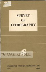 SURVEY OF LITHOGRAPHY. H. C. Latimer.