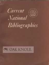CURRENT NATIONAL BIBLIOGRAPHIES. Helen F. Conover.