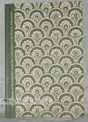 CATALOGUE OF MANUSCRIPTS FROM THE COLLECTIONS OF THE BOSTON ATHENAEUM. Stephen Z. Nonack.