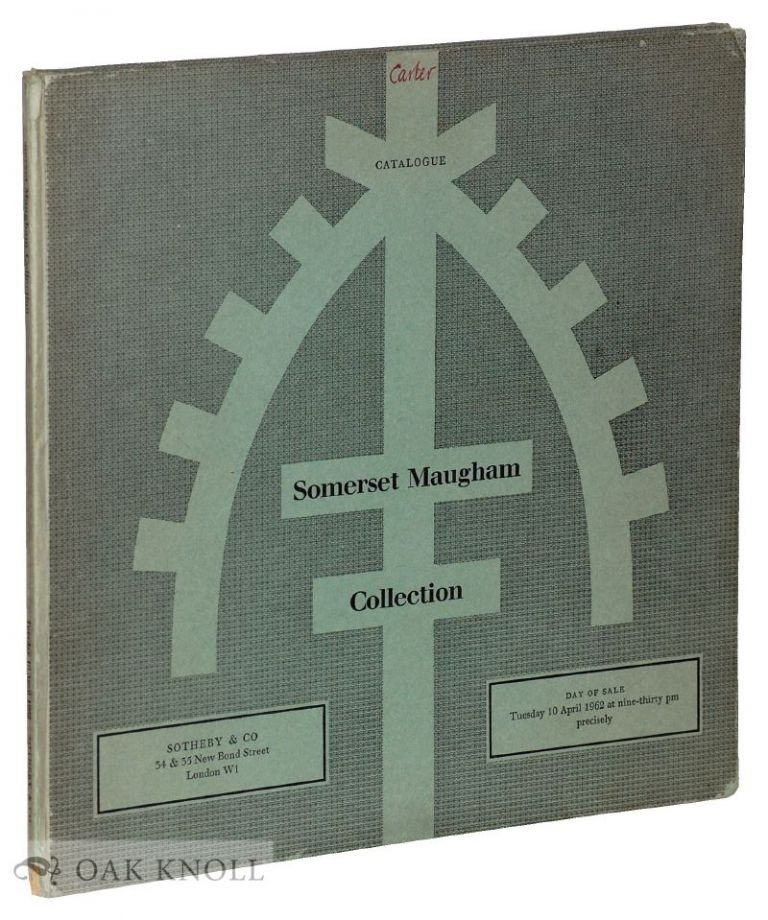 CATALOGUE OF THE COLLECTION OF IMPRESSIONIST AND MODERN PICTURES.