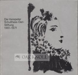 HANSPETER SCHULTHESS-OERI-STIFTUNG 1961-1971.