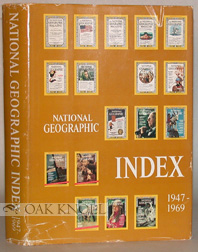 NATIONAL GEOGRAPHIC INDEX, 1947-1969