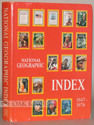 NATIONAL GEOGRAPHIC INDEX, 1947-1976