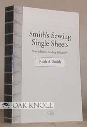 SMITH'S SEWING SINGLE SHEETS. Keith A. Smith.