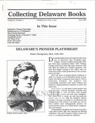 COLLECTING DELAWARE BOOKS.
