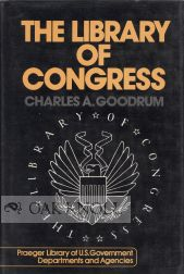 LIBRARY OF CONGRESS. Charles A. Goodrum.