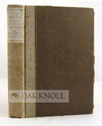 THE PRIVATE PAPERS OF HENRY RYECROFT. George Gissing.