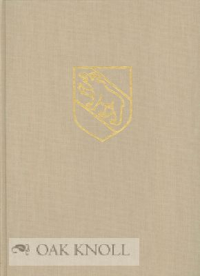 PAPER-MILLS OF BERNE AND THEIR WATERMARKS, 1465-1859 (WITH THE GERMAN ORIGINAL). Johann Lindt.