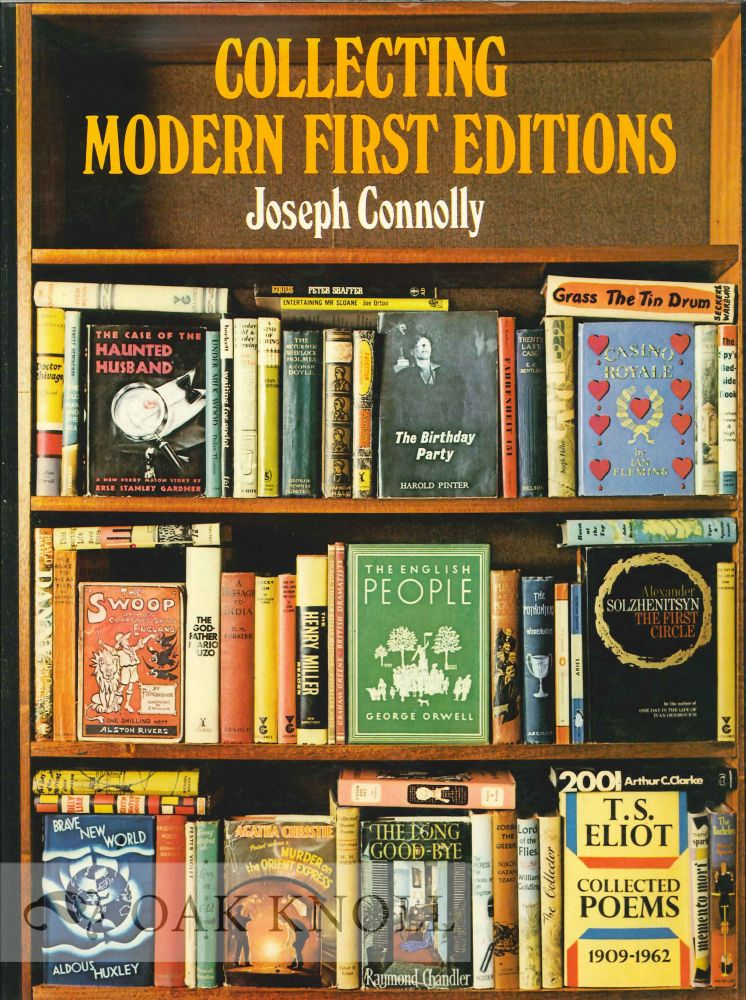 COLLECTING MODERN FIRST EDITIONS. Joseph Connolly.